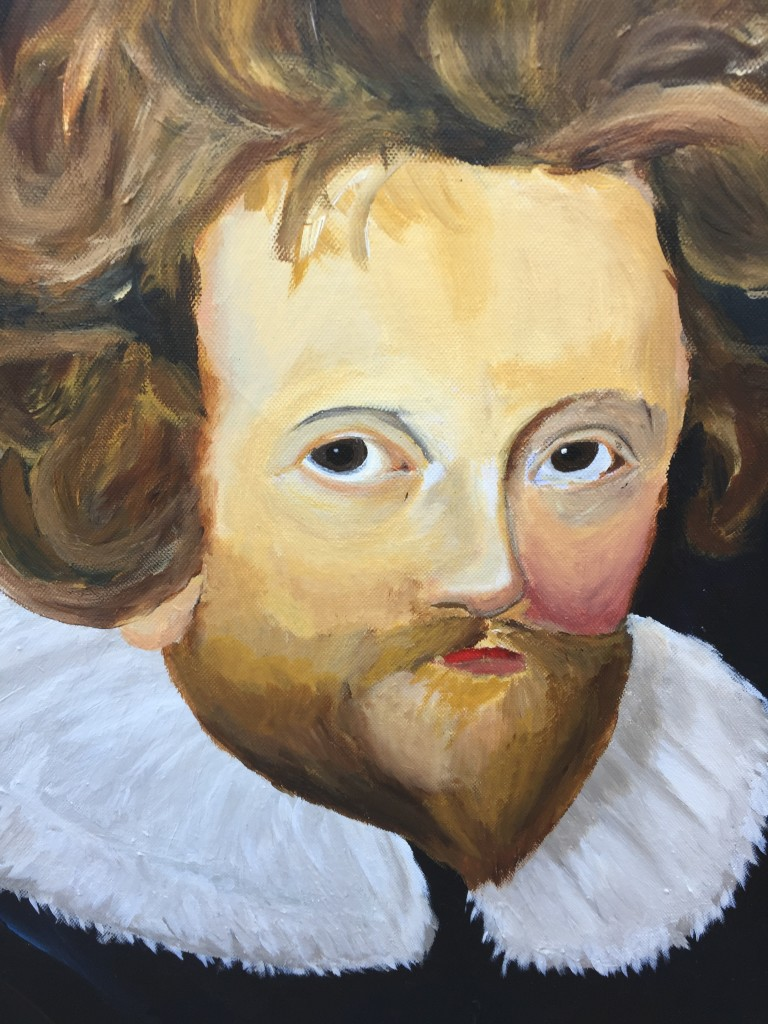 Jacobean playwright John Fletcher by Tim Yau, a 17-year-old student at SENSS Ormerod Base in Woodstock.
